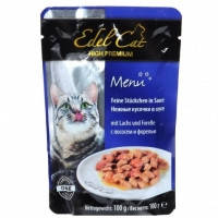Edel Cat pouch лосось и форель в соусе 100 гр
