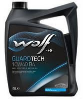 Моторное масло 10W40 WOLF GUARDTECH B4 DO EURO-4, 4 л