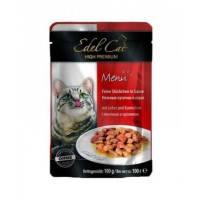 Edel Cat pouch печень и кролик в соусе 100 гр