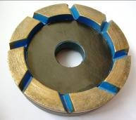"Фреза алмазная ""КЛИНДЕКС"" для шлифования по бетону 100 мм №0"
