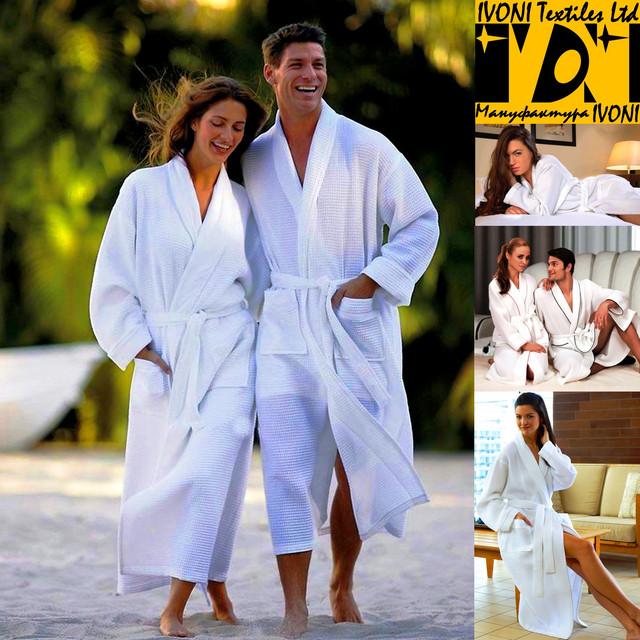 Халаты и полотенца для отелей и гостиниц, для бань и саун, да и просто для дома