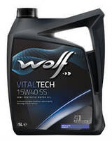 Масло моторное 15W40 WOLF VITALTECH SS EURO 0-3, 5 л