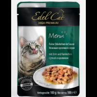 Edel Cat pouch утка и кролик 100 гр
