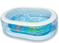 Детский надувной прозрачный бассейн 163х107 см Intex (57482)