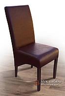 "Мягкий стул ""Хьюстон"" (бук) (КЗ коричневый)"