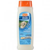 Hartz  шампунь от блох и клещей с овсом и ароматом ванили для проблемной кожи 532 мл(H02305)