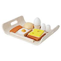 Plan Toys Деревянная Игрушка Меню к завтраку