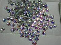 Стразы клеевые ss34 Crystal AB 144шт (7.0мм)