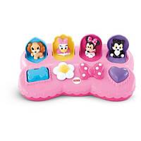 Fisher-Price Развивающая игрушка Сюрприз от Минни Маус Disney Baby: Minnie Mouse Pop-Up Surprise