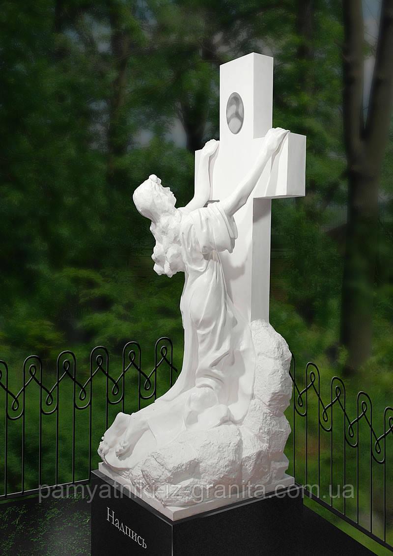 Крест из мрамора № 53