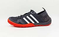 Кроссовки Adidas Кроссовки (р-р 40-44) Doroga new черный-красный