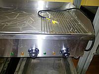 Жарочная поверхность VEKTOR EG 822 рифленно-гладкая н/сталь (новая)