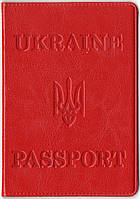 Обложка для паспорта из искусственной кожи. Обложка из кожзама., фото 1