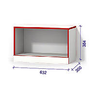 Модульна система Luxe Studio №1 з дверцятами 632х300х384 (Модуль 2)