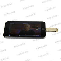Флеш-накопитель iDrive для Apple устройств, 64 гб, цвет: платина