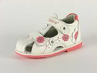 Детская обувь босоножки Clibee арт.TS-F-146 Белый (Размеры: 20-25)