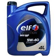 Масло моторное ELF 5W40 Evolution 900 NF без DPF, 4 л
