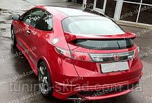 Спойлер Хонда Цивик 5д (спойлер на крышку багажника Honda Civic 5d Type R)