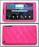 Розовый силиконовый чехол-бампер для планшета Lenovo Tab 2 A7-30, фото 4