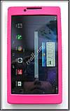 Розовый силиконовый чехол-бампер для планшета Lenovo Tab 2 A7-30, фото 3