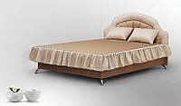 Двухспальная кровать Классик с мягким изголовьем