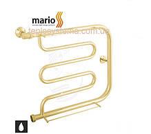 Полотенцесушитель водяной MARIO Фокстрот  350 х 700 с полочками (Mario), фото 2