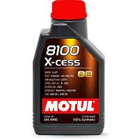 Масло моторное MOTUL 8100 X-CESS 5W40, 1 л