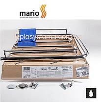 Полотенцесушитель водяной MARIO Фокстрот  530 х 700 с полочками (Mario), фото 2