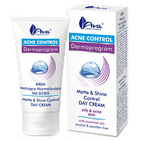 Матирующий дневной крем - Acne Control-Matt & Shine Control Day Cream, 50 мл