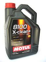 Масло моторное MOTUL 8100 X-CLEAN+ 5W30, 5 л