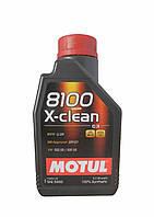 Масло моторное MOTUL 8100 X-CLEAN+ 5W30, 1 л