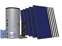 Геліосистема Hewalex 5 TLPAm-INTEGRA500 побутовий нагрів води + зєднання з ЦО!
