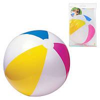 Детский надувной мяч 59030, разноцветный, 61см, в кульке, 24-15,5см