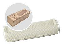 Подушка Валик из гречневой шелухи EcoPillow Eco-roll 35*12см