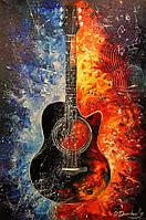 «Гитара» картина маслом