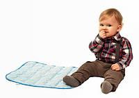 Подушка ортопедическая детская из гречневой шелухи EcoPillow EcoBaby 48*38см