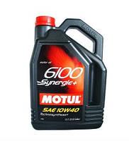 Масло моторное MOTUL 6100 SYNERGIE+ 10W40, 5 л