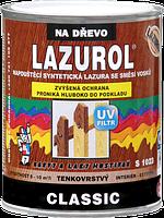 Пропитывающая синтетическая лазурь LAZUROL CLASSIC S1023