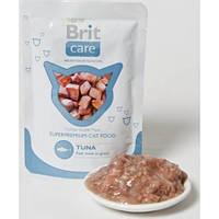 Brit Care Cat Tuna Pouch с тунцом, для кошек, 80гр