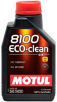 Моторное масло Motul 8100 ECO-clean 5W-30,1л