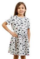 Платье для девочки со звездочками