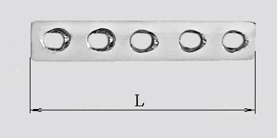 Пластина для малых трубчатых костей толщиной 3 мм