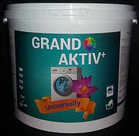 Бесфосфатный стиральный порошок GRAND AKTIV+ Universally  универсальный 5 кг