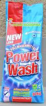 Стиральный порошок Power Wash vollwaschmittel, концентрат 10 кг