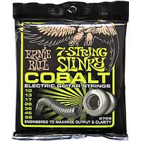 Струны Ernie Ball 2728 7-String Cobalt Slinky 10-56