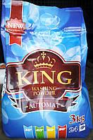 Бесфосфатный стиральный порошок KING 9 кг, фото 1
