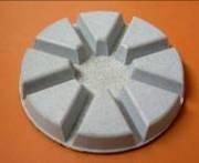 Фреза алмазная для полировки бетонных и мозаичных полов, диаметр 80 мм / толщ. 12 мм, липучка