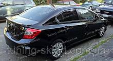 Спойлер Honda Civic 9 new (спойлер на крышку багажника Хонда Цивик 9 4Д)