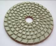 Фреза алмазная для полировки бетонных и мозаичных полов, диаметр 125 мм / толщ. 5 мм, липучка
