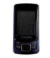 Корпус для Samsung C6112 Duos, с клавиатурой, High Copy, синий /панель/крышка/накладка /самсунг